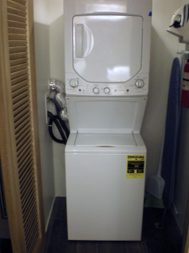 Westin St John Sunset Bay two bedroom villa washer and dryer combo