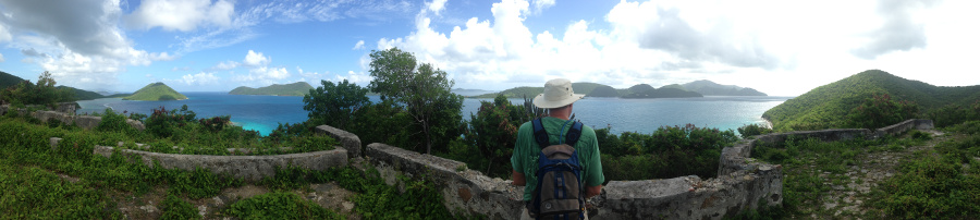 Sir Frances Drake overlook, St John USVI